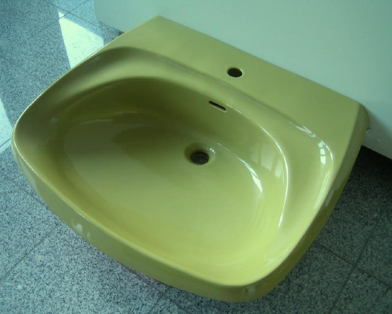 villeroy boch waschbecken waschtisch 70x60 cm moosgr n. Black Bedroom Furniture Sets. Home Design Ideas