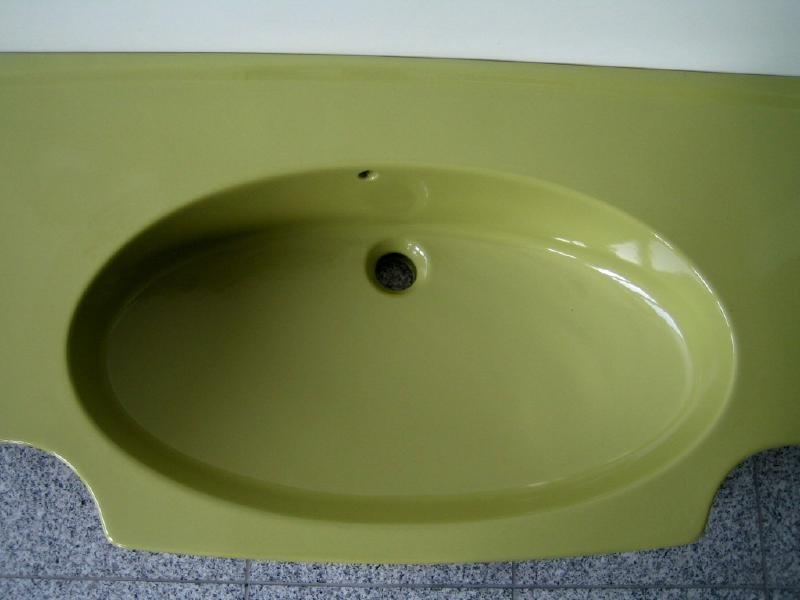 villeroy boch waschbecken waschtisch 122x52 cm moosgr n spuelen. Black Bedroom Furniture Sets. Home Design Ideas