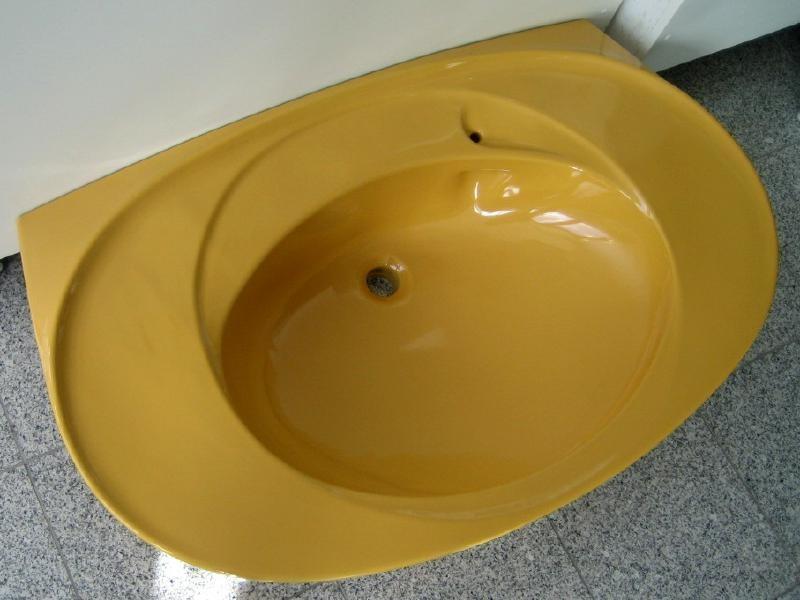 villeroy boch waschbecken waschtisch 101x62 cm curry. Black Bedroom Furniture Sets. Home Design Ideas