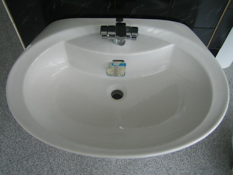 pozzi ginori design waschbecken waschtisch 73x52 cm weiss spuelen. Black Bedroom Furniture Sets. Home Design Ideas