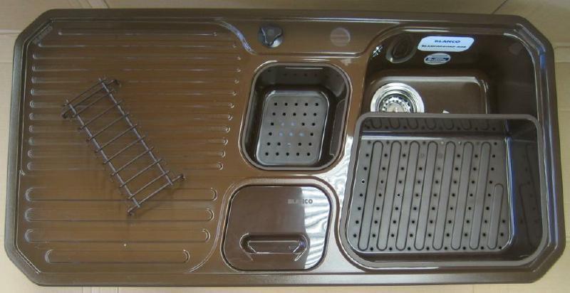 blanco primo box sp le maron braun 99 8 x 50 5 cm abfallsystem spuelen. Black Bedroom Furniture Sets. Home Design Ideas