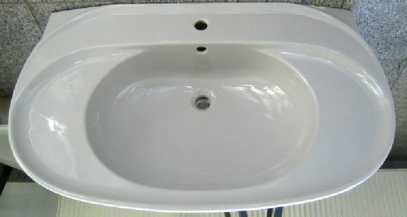ideal standard inga waschbecken waschtisch jasmin 100 cm spuelen. Black Bedroom Furniture Sets. Home Design Ideas