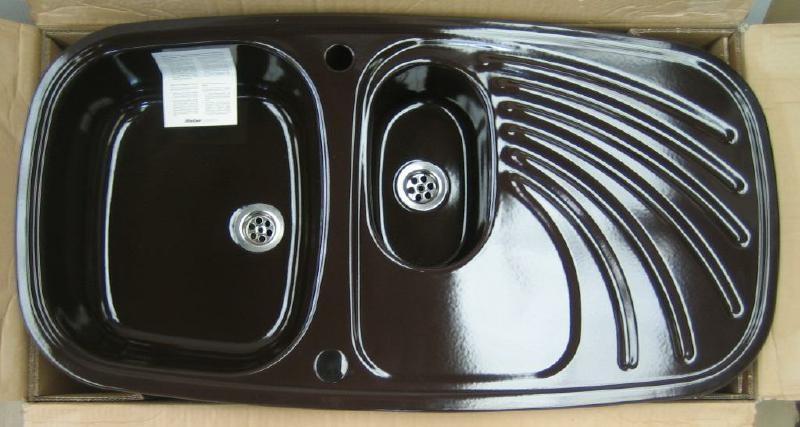 rieber samba sp le mocca braun reversibel 96 x 50 cm spuelen. Black Bedroom Furniture Sets. Home Design Ideas