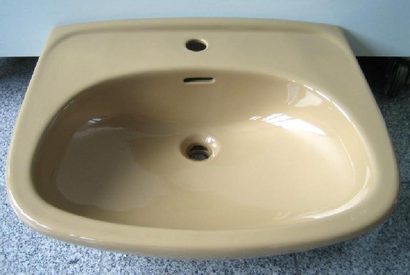 sphinx waschbecken waschtisch 60 cm braun caramel camel. Black Bedroom Furniture Sets. Home Design Ideas
