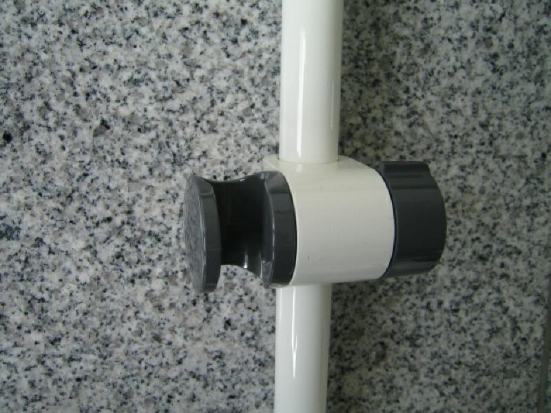 hansa medio hansamedio brausestange duschstange 65 cm weiss grau spuelen. Black Bedroom Furniture Sets. Home Design Ideas
