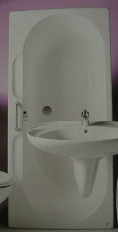 ideal standard badewanne inga 170x80 pergamon spuelen. Black Bedroom Furniture Sets. Home Design Ideas