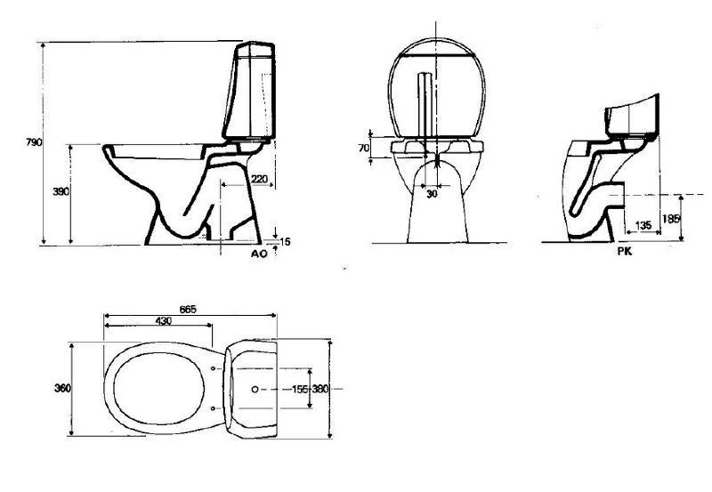 sphinx stand wc kombination bahamabeige spuelen. Black Bedroom Furniture Sets. Home Design Ideas