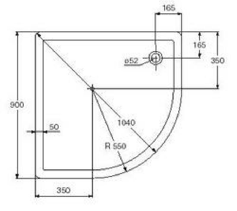 IDEAL STANDARD Duschwanne Dusche Stream S 90x90 EDELWEISS ... | {Duschwanne maße standard 28}