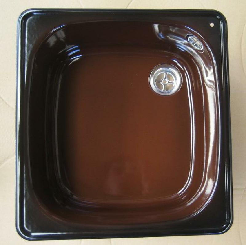 Spülbecken keramik braun  FRANKE Spüle / Spülbecken Brazil-Braun 39 x 42 cm - Spuelen-King.de