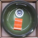 BLANCO Rondo Runde Spüle Rundbecken rund Agave-Grün 45 cm