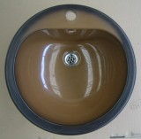 BLANCO Spülbecken / Einbau-Waschbecken BRAZIL-BRAUN 47 cm