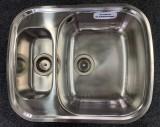 BLANCOTWEN-IF flächenbündige Spüle EDELSTAHL 61,6 x 49,3 cm