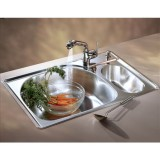 FRANKE PCX 660-RH 33x22 stainless steel kitchen sink