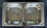 BLANCO Double bowl stainless steel sink