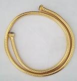Damixa Brauseschlauch Duschschlauch Gold Messing Metall Metallgewebe 150 cm
