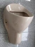 NOVOBOCH Urinal Pissoir Zulauf von Hinten Bahamabeige