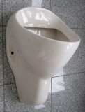 NOVOBOCH Urinal Pissoir Zulauf von Hinten Pergamon