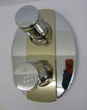 Bausatz 2 - Idealtherm Ceraron Thermostat Chrom Edelmessing