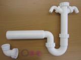 Spülen-Geruchsverschluss /-Siphon mit 2 Geräteanschlussen