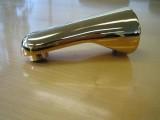 Ceralux Badewanneneinlauf Wanneneinlauf Einlauf Gold 130 mm