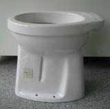SPHINX erhöhtes Behinderten-WC Abfluss Boden AO 45 cm WEISS