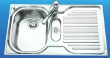 SUTER Comfort C90A Spüle 90x50 cm Edelstahl BECKEN-LINKS