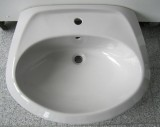 NOVO-BOCH Waschbecken Waschtisch MANHATTAN-GRAU 65x54 cm