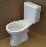 KERAMAG Renova Nr. 1 Stand-WC-Kombination mit Spülkasten Abgang zur Wand EDELWEISS