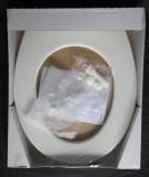 Abusanitair WC-Sitz ohne Deckel Toilettenbrille Weiss-Alpin