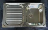 BLANCO PLUS 45S Spüle Einbauspüle Küchenspüle Edelstahl 86 x 50 cm
