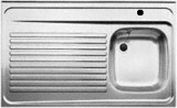 BLANCO Auflage-Spüle 110x60 cm Edelstahl B-R