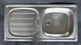 FRANKE EUROSET ESP Einbauspüle Küchenspüle Spüle Edelstahl 86 x 43,5 cm