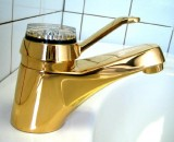 IDEAL STANDARD Monolux Waschbeckenarmatur Gold