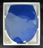 SANITOP WC-Sitz Toilettensitz WC-Brille WC-Deckel Sorrento-Blau