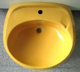 IDEAL STANDARD Waschbecken Waschtisch 62 x 54,5 cm CURRY GELB