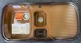 BLANCO Multi-Box Spüle Becken-Links 99,5x49 cm Brazil Braun
