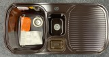 BLANCO Multi-Box Spüle Mocca Becken-Links 99,5x49 cm