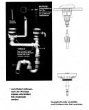 Teka Excenter Ab- und Überlaufgarnitur mit Siphon für Teka Duetta 2x 3,5