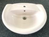 IDEAL STANDARD Einbau-Waschbecken Waschtisch Tizio 60 x 48 cm Whisper-Rosa