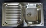 BLANCO PLUS 45S Spüle Edelstahl ohne Überlauf 86x50 cm