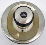 Bausatz 2 - Idealux Oberteile Zentralthermostat Satin/Gold