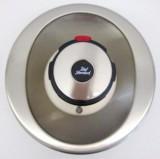 Bausatz 2 - Idealux Oberteile Zentralthermostat Unterputz Satin