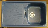 RIEBER Verona-100 Spüle Blau-Granit 86x50 cm