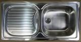 TEKA FLEX Spüle Einbauspüle Edelstahl 86x43,5 cm