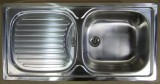 TEKA FLEX Spüle Einbauspüle Küchenspüle Edelstahl 86 x 43,5 cm