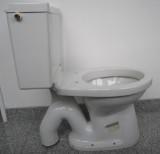 SPHINX 64S Stand-WC-Kombination mit Spülkasten Abgang Boden WEISS