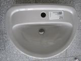Keramag Delta Diara Handwaschbecken 50 x 37,5 cm Manhattan Grau