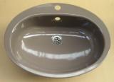FRANKE Lady ovales Einbau-Waschbecken BALIBRAUN 58x45 cm