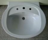 NOVO-BOCH Waschbecken Waschtisch WHISPER-BLAU 67 x 56 cm