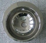 SUTER Ronda Einbau-Waschbecken EDELSTAHL 44 cm